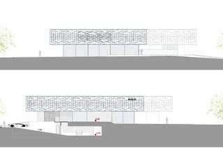 villa 49 - elevations:  in stile  di effesseprogetti®