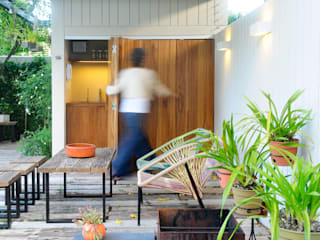Moderner Garten von Paula Herrero | Arquitectura Modern