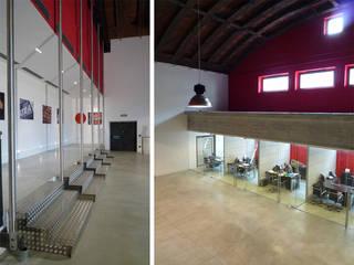 Edificios de oficinas de estilo  por mg2 architetture, Moderno