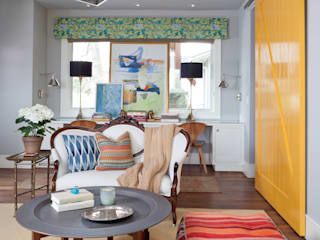 Classic style media room by Andrea Schumacher Interiors Classic