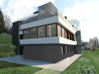 Casas de estilo  por mg2 architetture, Moderno