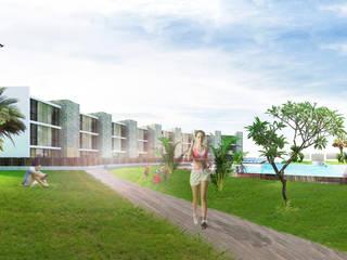 Hoteles de estilo  por mg2 architetture, Moderno