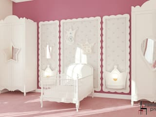 Chambre d'enfant de style  par Samarina projects,