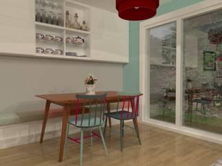 Susana Velo Decoradora Eclectic style dining room