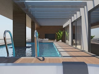 Moderne Pools von FARGO DESIGNS Modern