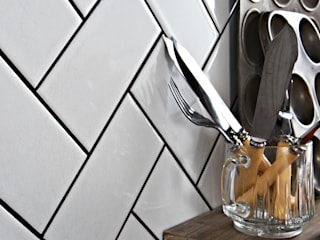 White Antique Crackle Metro Tiles Walls and Floors Ltd Walls & flooringTiles Keramik White