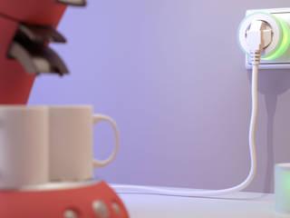 Flare® - Slimme stekker voor doven en slechthorenden:   door Studio Edwin de Kuiper, Minimalistisch