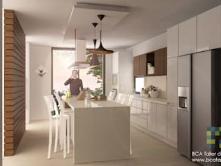 Kitchen by BCA Arch and Interiors, Modern