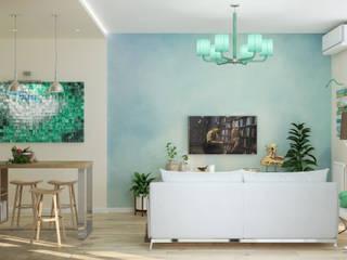 Salon de style  par Студия дизайна Дарьи Одарюк,
