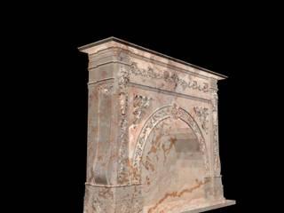 Göknur Ağaç Sanat Mad. İnş. San. Tic. Ltd. Şti. – Fireplace-3:  tarz
