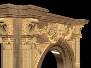 Göknur Ağaç Sanat Mad. İnş. San. Tic. Ltd. Şti. – Fireplace-4:  tarz