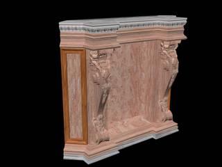 Göknur Ağaç Sanat Mad. İnş. San. Tic. Ltd. Şti. – Fireplace -5:  tarz