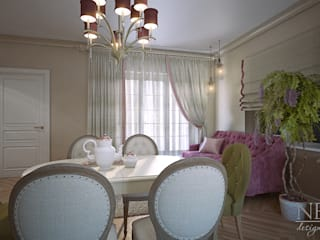 Classic style dining room by Юлия Паршихина Classic