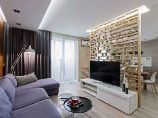 Livings de estilo moderno por EUGENE MESHCHERUK   |  architecture & interiors