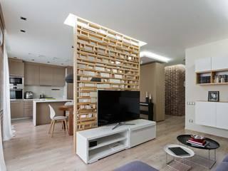 : Гостиная в . Автор – EUGENE MESHCHERUK   |  architecture & interiors, Модерн