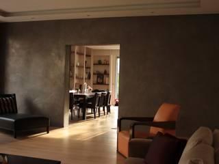 Métallisation à froid pour la décoration murale, mobilier ou agencement par A COEUR DE CHAUX - LE MUR OBJET Minimaliste