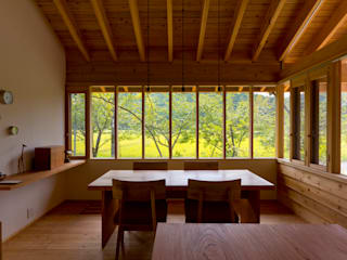 Dining room by エイチ・アンド一級建築士事務所 H& Architects & Associates