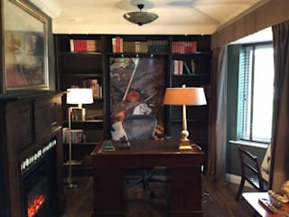 Gentleman's Study Classic style study/office by Elephant Interior Exterior Design Classic