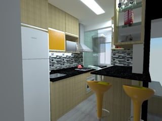 by Elaine Medeiros Borges design de interiores Modern
