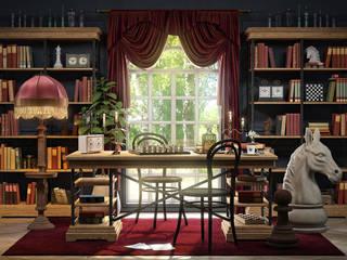 Репаблик - неустаревающая классика: Рабочие кабинеты в . Автор – Moonzana