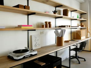 Paula Herrero | Arquitectura Industrial style study/office