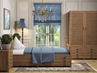 Принтмейкер - дизайн, которому более ста лет: Спальни в . Автор – Moonzana