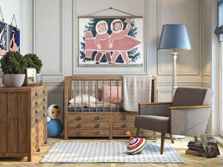 Принтмейкер - дизайн, которому более ста лет: Детские комнаты в . Автор – Moonzana