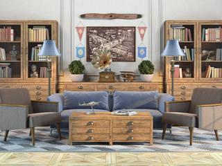 Принтмейкер - дизайн, которому более ста лет: Гостиная в . Автор – Moonzana