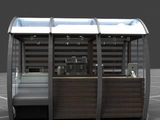Barril Cafe de KALI diseño.MX
