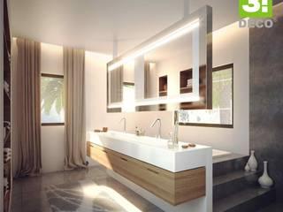Minimalist style bathroom by 3 DECO Minimalist Quartz