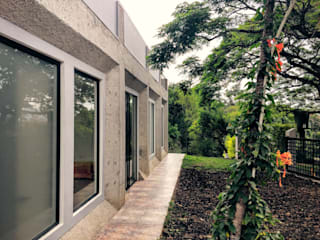 Casas de estilo  por Vertice Oficina de Arquitectura