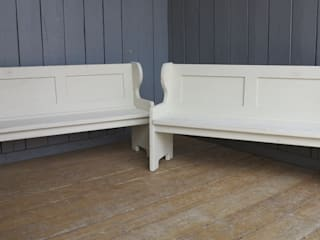 Bespoke Benches, Settles and Pews by UKAA | UK Architectural Antiques Рустiк