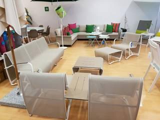 SALA JET STREAM Hoteles de estilo minimalista de SINDO OUTDOOR Minimalista