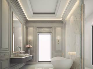 Ванные комнаты в . Автор – IONS DESIGN, Минимализм
