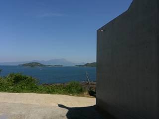 海と空の家 モダンな 家 の 坂本達哉建築設計事務所 モダン