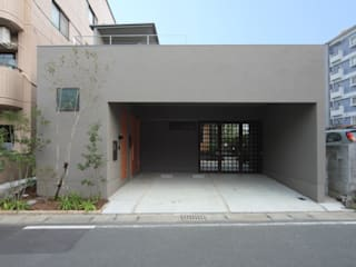 岡田町の家 モダンな 家 の 坂本達哉建築設計事務所 モダン