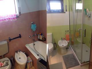 Remodelação Instalação sanitária_Parede por 4 Pontos