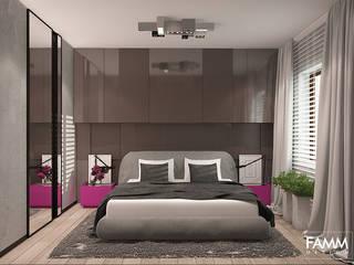 Camera da letto in stile in stile Moderno di FAMM DESIGN