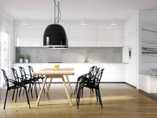 Dom pod Warszawą: styl , w kategorii Kuchnia zaprojektowany przez DKoncept architektura wnętrz