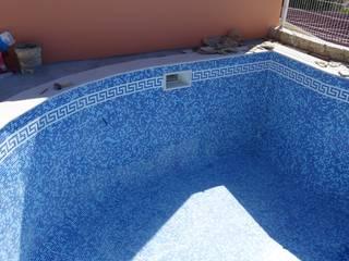 Atádega Sociedade de Construções, Lda Mediterranean style pool