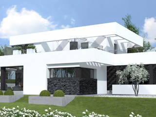 Houses by HomeKONCEPT | Projekty Domów Nowoczesnych, Modern
