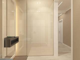 Modern corridor, hallway & stairs by Design interior OLGA MUDRYAKOVA Modern