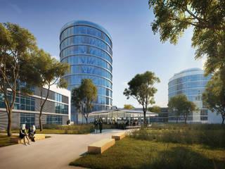 Erweiterung Büropark Moderne Häuser von raupach architekten Modern