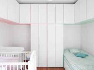Dormitorios infantiles de estilo  de Estúdio AMATAM