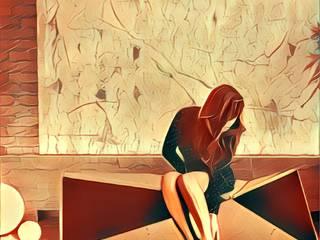 Boceto concepto del mobiliario : Salas de estilo  por GZ2 Arquitectura