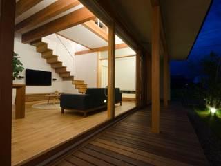 若葉いろの家 ラスティックな 家 の FrameWork設計事務所 ラスティック