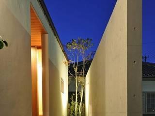 ゴトオリの家 ラスティックスタイルの 玄関&廊下&階段 の FrameWork設計事務所 ラスティック