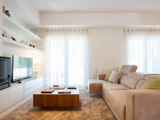 Traço Magenta - Design de Interiores Living roomAccessories & decoration Beige
