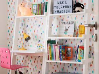 Moradia c/ 2 quartos - Cascais Quartos de criança modernos por Traço Magenta - Design de Interiores Moderno