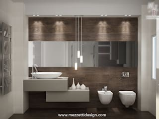 Minimalist bathroom by Mezzettidesign Minimalist Ceramic